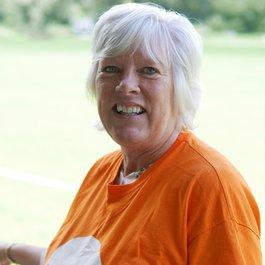 Meningitis Now staff member Debbie Manning