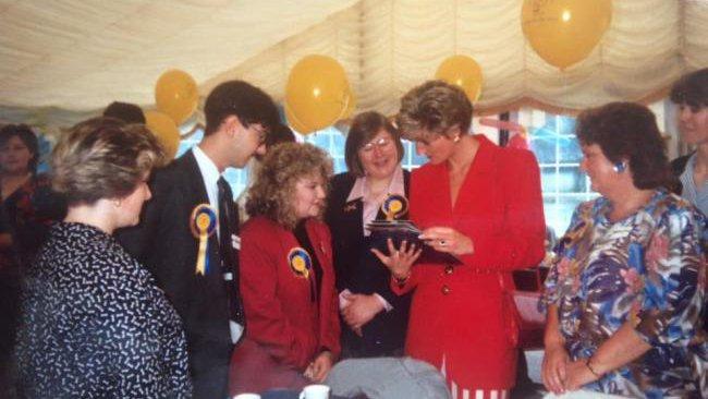 Remembering Meningitis Now Royal Patron Diana Princess of Wales