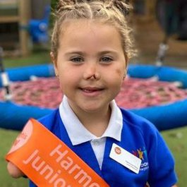 Meningitis Now Junior Ambassador Harmonie-Rose