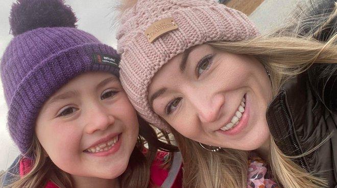 Charlotte and Elsie's marathon walk to fight meningitis