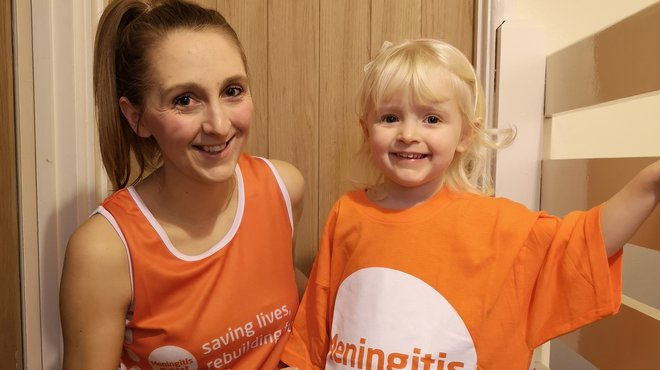 Emily's London Marathon after daughter survives meningitis blog