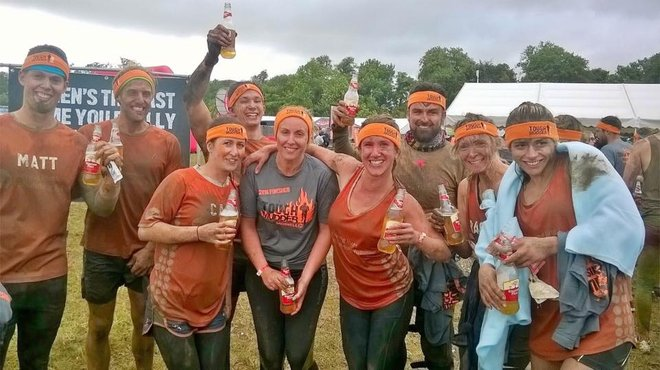Meningitis Now - Emma Thompson beats viral meningitis and takes on Tough Mudder