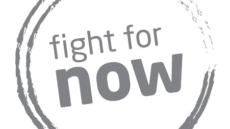 Fight for now logo