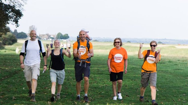 Meningitis Now event - Five Valleys Walk