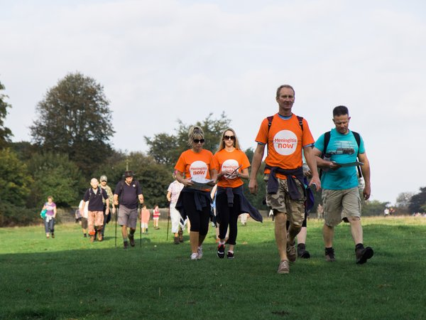 Meningitis Now event - Five Valleys Walk