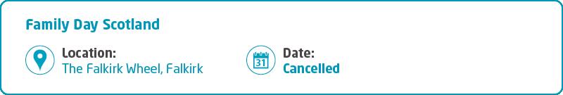 Meningitis Now support event Family Day Key Info - Scotland - cancelled