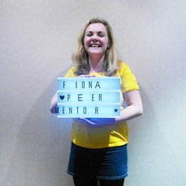 Meningitis Now B&A Believe & Achieve Peer Mentor Fiona Yelland