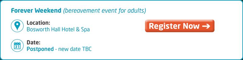 Meningitis Now support event - Forever Weekend Key Info - postponed