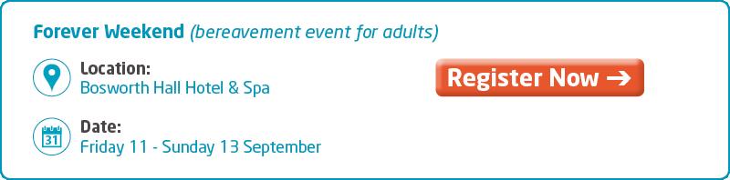 Meningitis Now support event - Forever Weekend Key Info