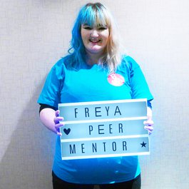 Meningitis Now B&A Believe & Achieve Peer Mentor Freya Stealey