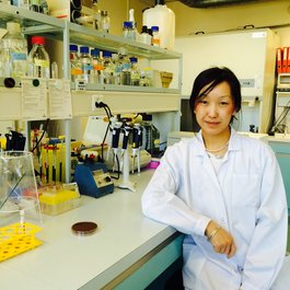 Meningitis Now researcher Dr Marie Yang
