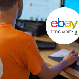 Fundraise for Meningitis Now with eBay for charities