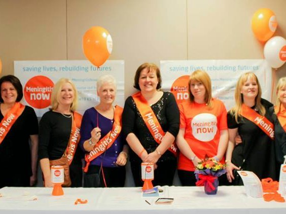 Meningitis Now fundraising awareness