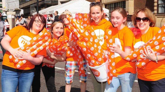 Meningitis Now event - Great North Run volunteers