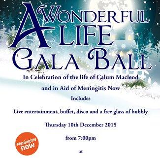 Wonderful Life gala ball in memory of meningitis victim Calum