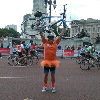Meningitis Now fundraising event - RideLondon