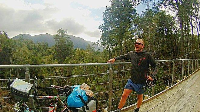 Round the world cyclist blog