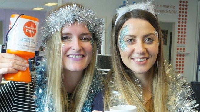 Meningitis Now fundraising event - Get Your Glitter On