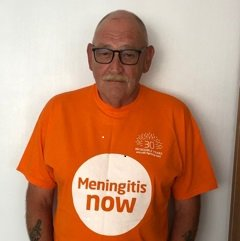 Meningitis Now Community Ambassador Graeme Burridge