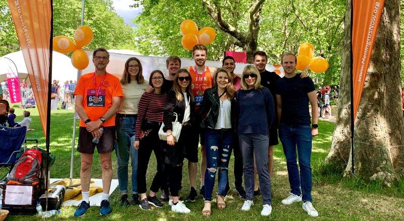 Meningitis Now fundraising event - London 10,000 - Nick Gilbert
