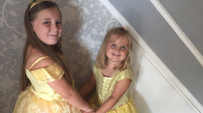 Haircut fundraiser after sisters meningitis recovery blog