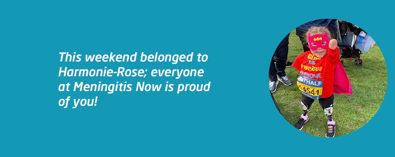 Harmonie-Rose completes Bath Half marathon