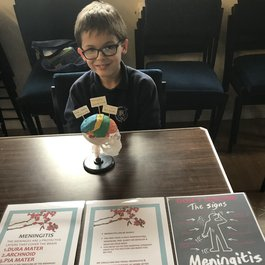 Harry raising awareness of meningitis blog