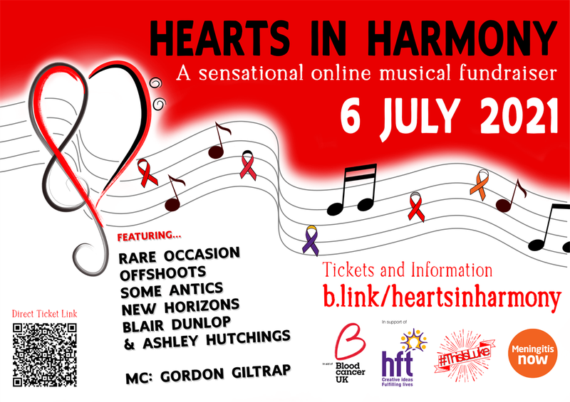 Hearts in Harmony fundraising concert for Meningitis Now