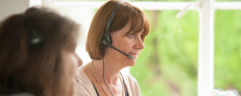 Meningitis Now Helpline staff
