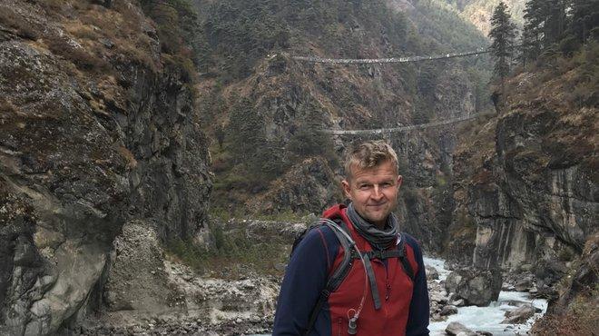 Jonny Himalaya fundraising trek for Meningitis Now