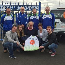 Football jersey to remember meningitis victim Aaron Devlin