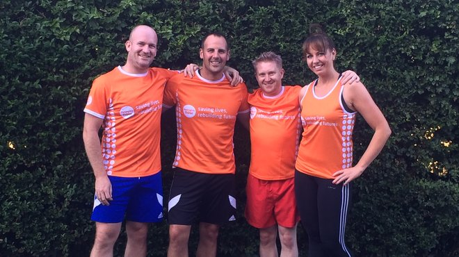 Martin Tough Mudder fundraiser for Meningitis Now