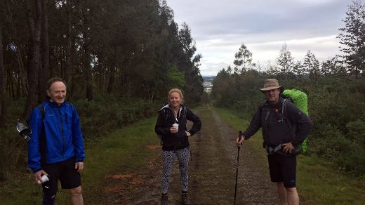 Camino Ingles pilgrimage for meningitis victim Harry Williams