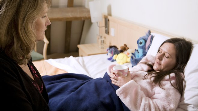 Signs and symptoms of meningitis - ill young person