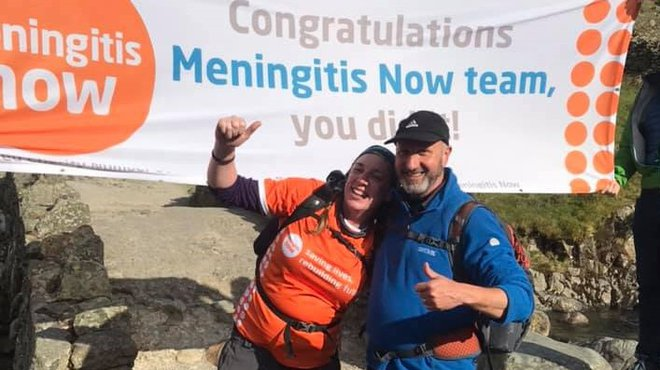 Lake District 8 Peak Challenge for Meningitis Now
