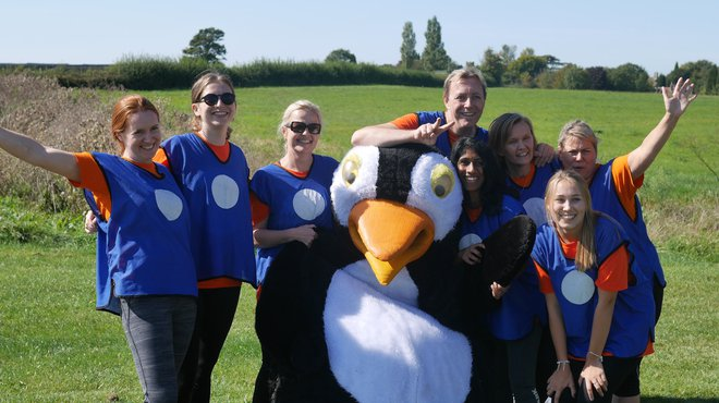 Meningitis Now corporate It's a knockout event