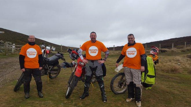 James Bownass motorbike ride in memory blog