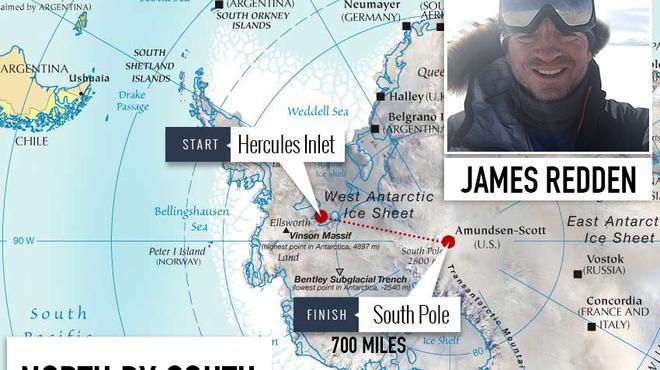 South Pole challenge for Meningitis Now