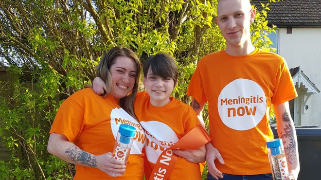 Jog On Meningitis to help Kye's family