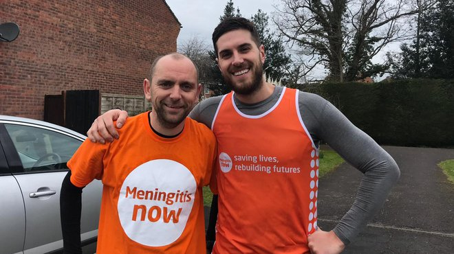 John Broom London Marathon for Meningitis Now blog