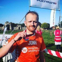 John Fensom twelve marathon challenge blog