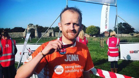 John Fensom twelve marathon challenge for Meningitis Now blog