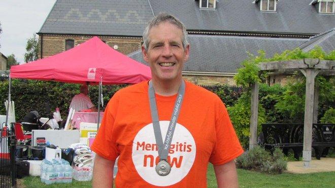 Meningitis Now Community Ambassador Jonathan Davies