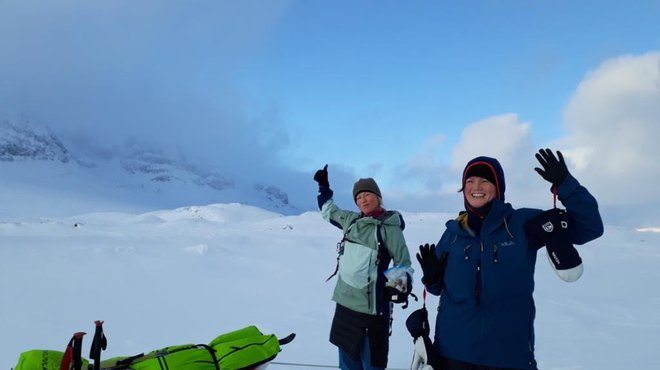 Fundraising Norway mountain challenge for Meningitis Now