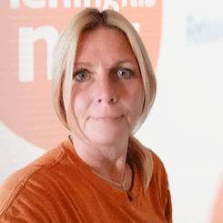 Meningitis Now staff member Jules Braithwaite