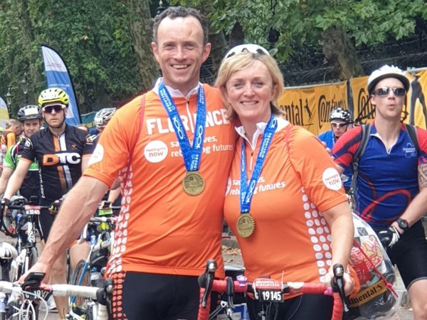 Karl RideLondon fundraising event for granddaughter Florence after meningitis death