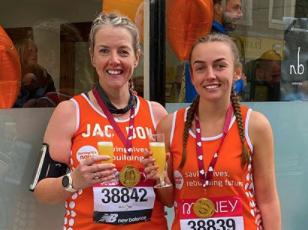 Meningitis Now fundraising event - Virtual London Marathon - Katie Bonsall