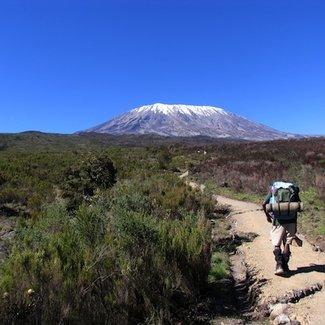 Meningitis Now overseas fundraising - Kilimanjaro