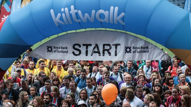 Kiltwalk fundraiser for Meningitis Now
