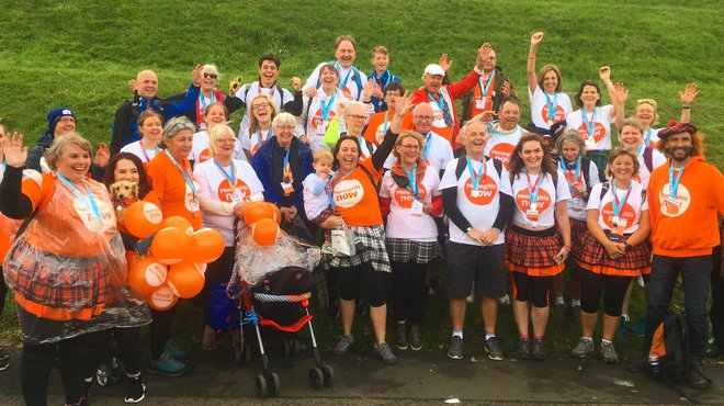 Kiltwalk for Meningitis Now